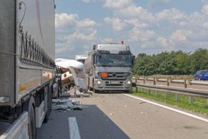 highway truck accident